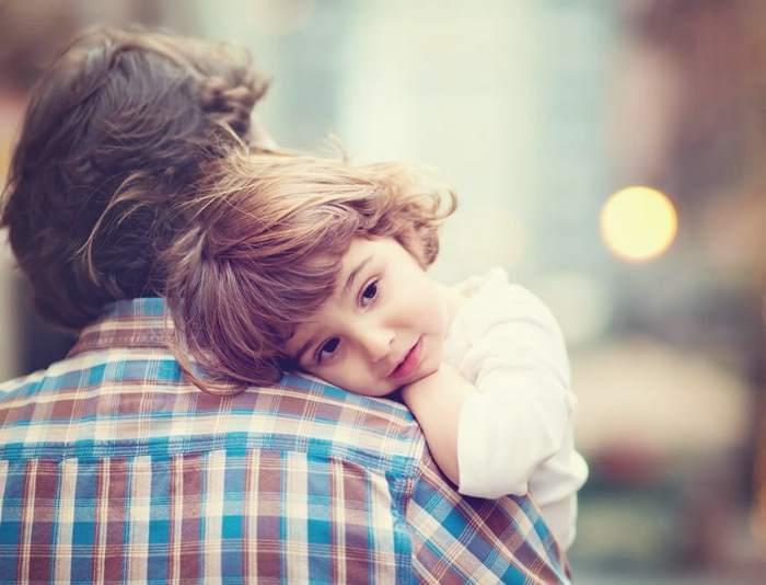 ребенок с родителем